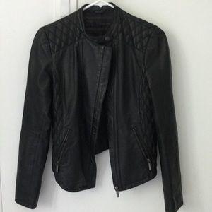 Zara Vegan Leather Moto jacket